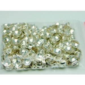 天然石 パワーストーン 福袋213 座金 5mm 約1000個セット シルバー 銀 パーツ 在庫処分 送料無料有  アクセサリー作りに|hinryo