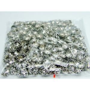 天然石 パワーストーン 福袋290 座金 8mm 約1000個セット クローム パーツ 在庫処分 送料無料有  アクセサリー作りに|hinryo