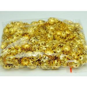 天然石 パワーストーン 福袋188 座金 10mm 約1000個セット ゴールド 金 パーツ 在庫処分 送料無料有  アクセサリー作りに|hinryo
