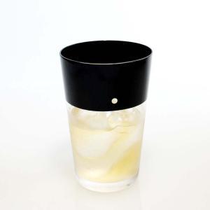 DEN タンブラーグラス B  漆 漆器 グラス 酒器 硝子 フリーグラス ビールグラス 螺鈿 伝統工芸 高岡漆器|hint
