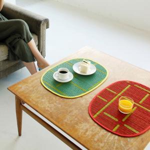 OTO ランチョンマット い草 テーブルマット 国産い草 掛川織 リバーシブル|hint