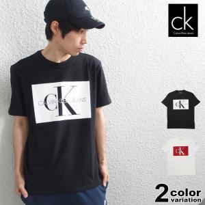 [ブランド]CALVIN KLEIN JEANS(カルバンクライン) [アイテム]半袖 Tシャツ ボ...