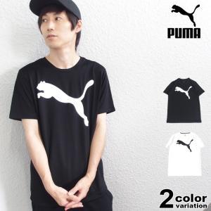 [ブランド]PUMA (プーマ) [アイテム] 半袖 Tシャツ ACTIVE ビッグロゴ SS T-...