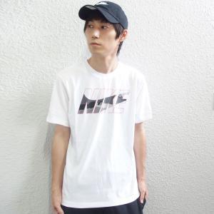 [ブランド]NIKE (ナイキ) [アイテム]半袖 Tシャツ ブロックカモ [カラー]ブラック・ホワ...