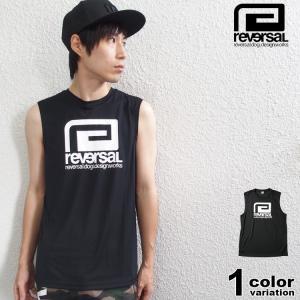 [ブランド]REVARSAL(リバーサル) [アイテム]ノースリーブ Tシャツ ドライメッシュ / ...