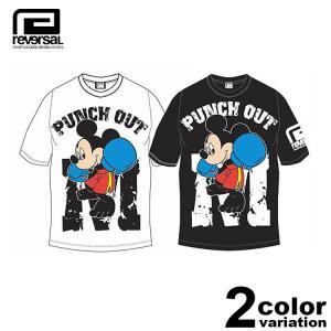 [ブランド]REVARSAL(リバーサル) [アイテム]×ミッキーマウス 半袖 Tシャツ Micke...