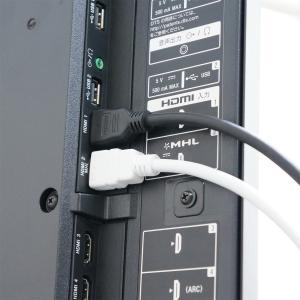 HORIC ハイスピードHDMIケーブル 1.5m ブラック プラスチックモールド 4K/30p 3D HDR HEC ARC リンク機能 HDM15-311BK|hipregio-yh|03