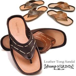 メンズ レザーストラップ トング サンダル ベンハーサンダルBump N' GRIND バンプアンドグラインドメンズ靴|hips