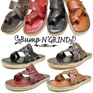 Bump N' GRIND バンプアンドグラインド メンズ サンダル 本革 トングサンダル メンズ靴|hips