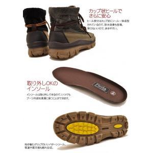 防水機能 ショートブーツ メンズ レインブーツ 2WAY 寒冷地 防寒ブーツ スノーブーツ メンズ 靴|hips|04
