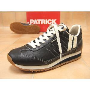 PATRICK パトリック スニーカー メンズ MARATHON-L  マラソンL ブラック