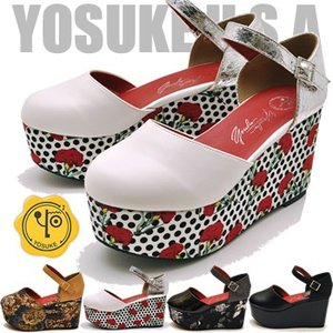 YOSUKE ヨースケ 靴 厚底パンプス セパレートタイプ レディース ※(予約)は3営業日内に発送|hips