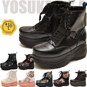 YOSUKE U.S.A ヨースケ 厚底スニーカー ハイカット レディース ※(予約)は3営業日内に発送|hips