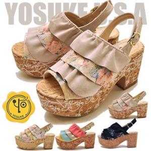 YOSUKE ヨースケ 靴 厚底サンダル レディース|hips