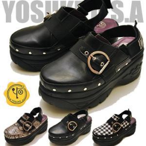 YOSUKE ヨースケ 靴 厚底サボサンダル スポーツサンダル レディース ※(予約)は3営業日内に発送|hips