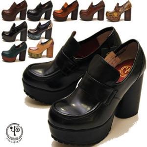 YOSUKE ヨースケ 靴 厚底パンプス ローファーパンプス レディース ※(予約)は3営業日内に発送|hips
