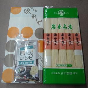 卵めん500g(100g×5) 吉田製麺 岩手名産|hiraizumiresthouse