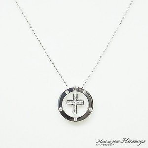 K18WG ダイヤモンド4WAYペンダントネックレス|hiranoya78
