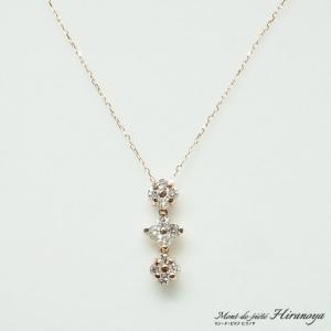 K18 ダイヤモンド2WAYペンダントネックレス|hiranoya78