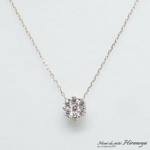 K18PG ダイヤモンドペンダントネックレス|hiranoya78