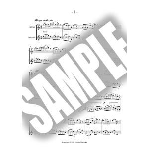 デュオで吹くケーラー第1巻 全曲セット【当店限定ダウンロード販売】フルート練習曲の定番  KOEHLER Easy Exercises Op.33-1 No.1〜15