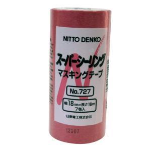 日東電工 スーパーシーリングテープ 18mm×18M 7巻入|hirazen