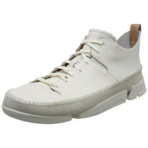 [クラークス] スニーカー メンズトライジェニックフレックス Mens Trigenic Flex(定番) White Leather(ホワイトレザー/065) hirazen