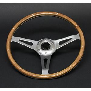 ヴィンテージタイプウッドステアリング<br>ナルディ レカラ モトリタ 36.5Ф(N365W)|hirazen