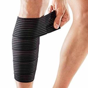 Seliyi 一枚 スピードラップ 膝 もも すね レッグ ふくらはぎ 肘 腕 兼用型 肉離れ サポーター 男女兼用|hirazen