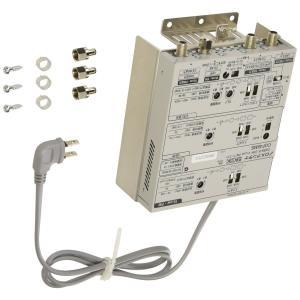 DXアンテナ CS/BS-IF・UHF・FMブースター 【2K 4K 8K 対応】 中規模集合住宅共同受信用 省電力設計 混合器機能付き CUF45MS|hirazen
