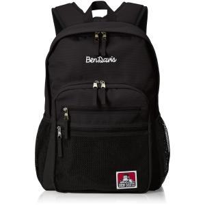 [ベンデイビス] リュックサック XLサイズ メッシュポケット 通勤通学に最適です BDW-9200 ブラック hirazen