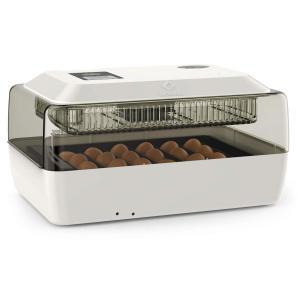 LifeBasis 自動孵卵器 インキュベーター 鳥類専用ふ卵器 自動転卵式 孵化器24個入卵OK ヒヨコ生まれ 子供教育用 大容量 自動温度制御 湿度保持 デジタル表示 鶏|hirazen