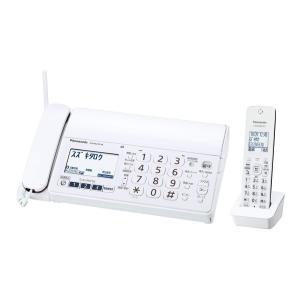 パナソニック デジタルコードレスFAX 子機1台付き 1.9GHz DECT準拠方式 ホワイト KX-PZ210DL-W|hirazen