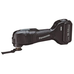 パナソニック ブラシレスマルチツール 18V高容量5.0Ah電池パックセット ブラック EZ46A5LJ2G-B hirazen