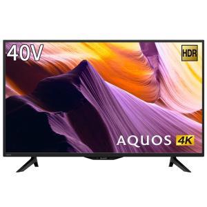 シャープ SHARP 40V型 4K チューナー内蔵 液晶 テレビ AQUOS HDR対応 4T-C40BH1|hirazen