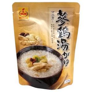 マニカー 参鶏湯粥 250g|hiroba