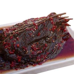 えごまの葉醤油漬け 180g|hiroba