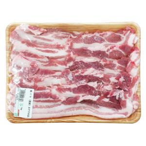 冷蔵 国産 豚バラ サムギョプサル 1kg|hiroba