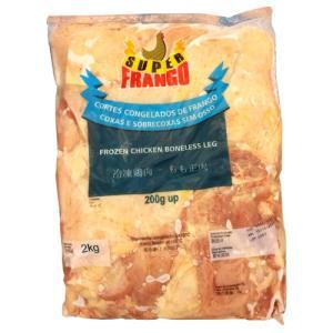 冷凍 鶏もも肉 2kg ブラジル産|hiroba