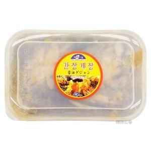 冷凍 利久 醤油ケジャン 1kg|hiroba