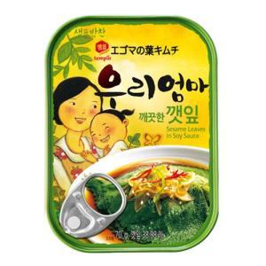 センピョ えごまの葉 缶詰 70g|hiroba