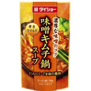 ダイショー 味噌キムチ鍋スープ 750g...