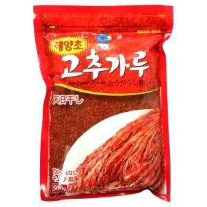 清浄園 唐辛子粉 キムチ用 500g