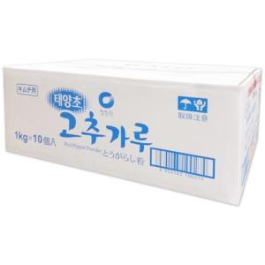 清浄園 唐辛子粉 キムチ用 1kg BOX(10個入り)