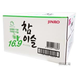 韓国焼酎 チャミスル 16.9℃ 360ml BOX (20本入)|hiroba