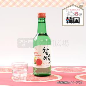 韓国焼酎 チャミスル グレープフルーツ 360ml|hiroba