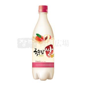 麹醇堂 米マッコリ 桃味 750ml...