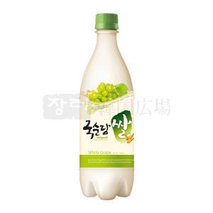 麹醇堂 米マッコリ マスカット味 750ml|hiroba