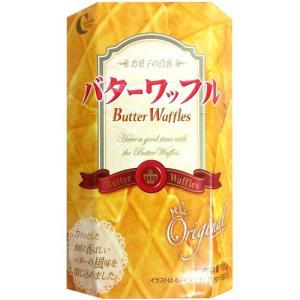 クラウン バターワッフル 中 (3枚×5袋入)|hiroba