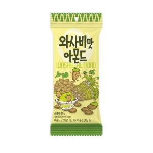 わさびアーモンド 35g 72個セット / 韓国 アーモンド ハニバター わさび カロリー TOMSの商品画像 ナビ